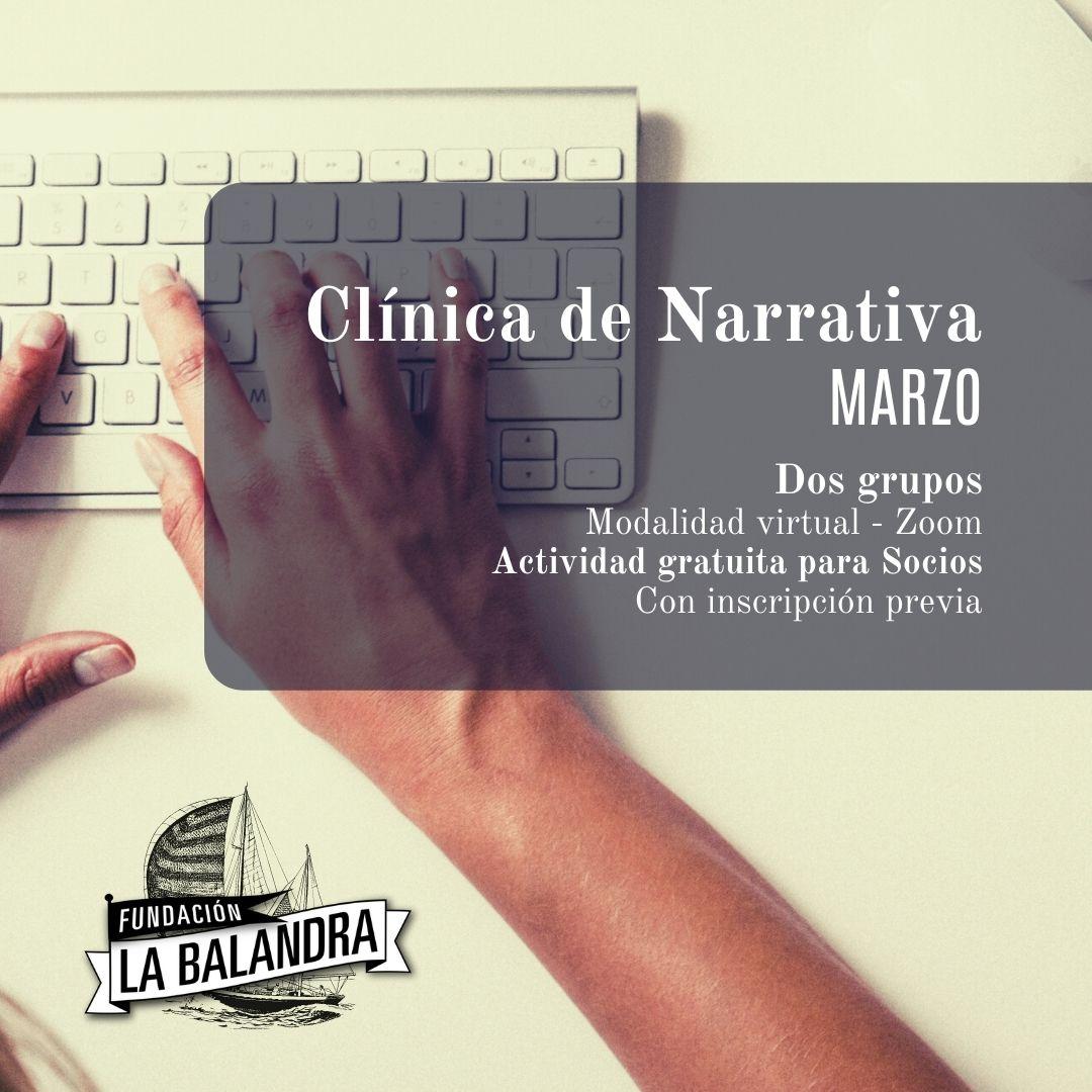 Clínica de Narrativa_ Marzo - Maumy González