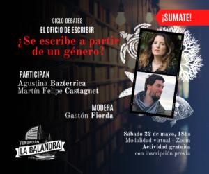 3° Encuentro del Ciclo Debates: El oficio de escribir