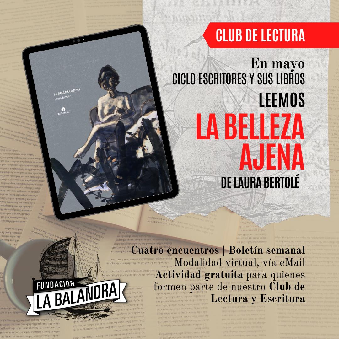 Flyer Agenda - Club de Lectura Mayo