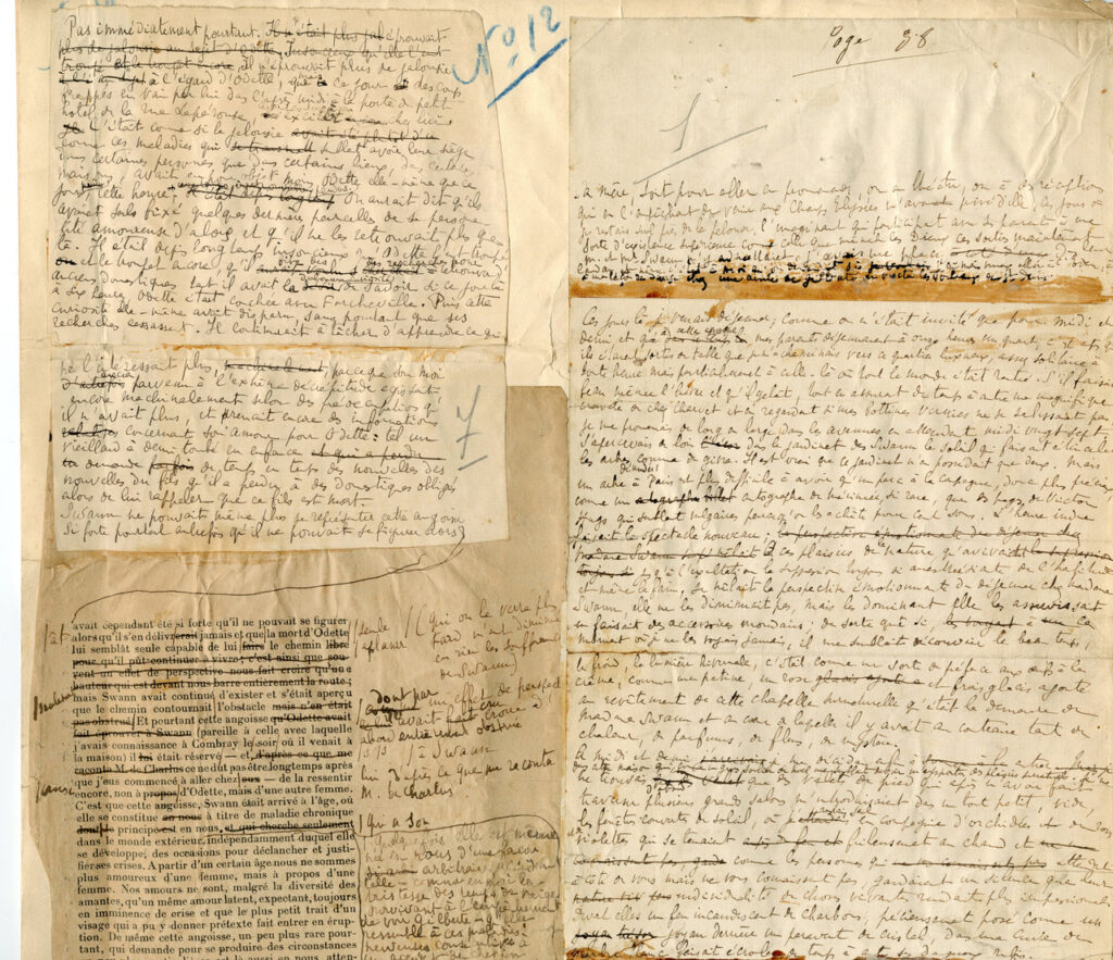 Manuscrito Proust