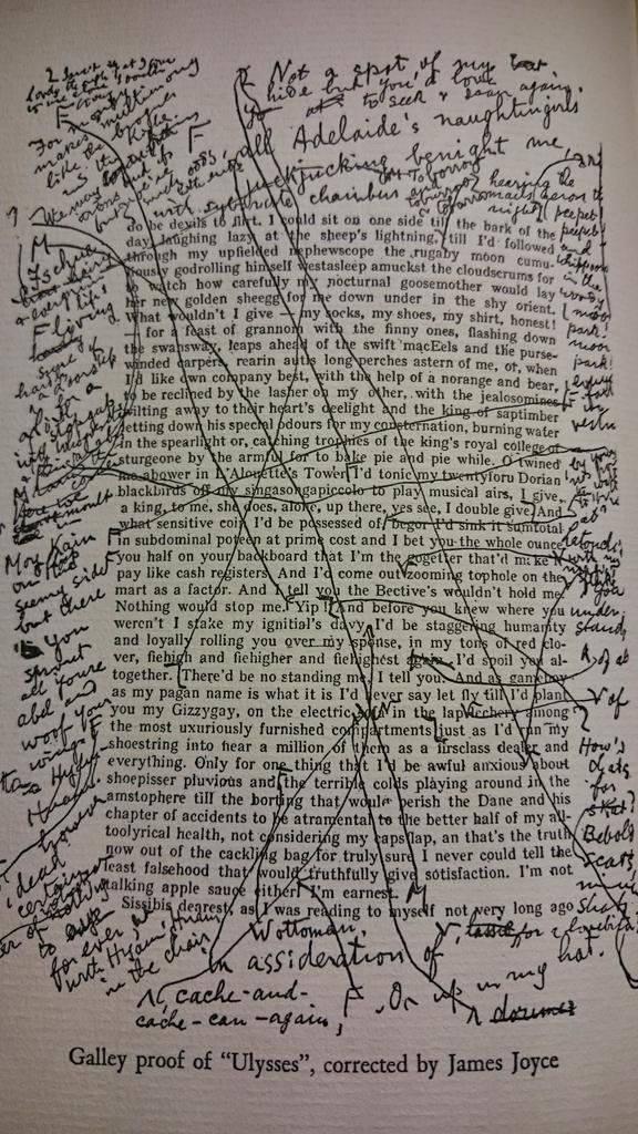 manuscrito joyce